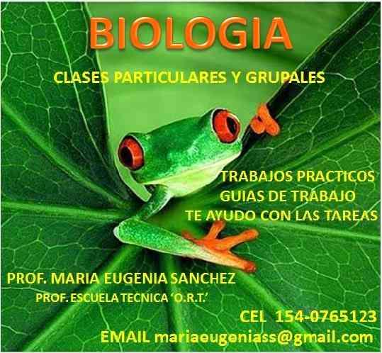 Clases particulares de biologia