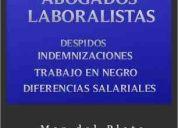 Abogados laboral mar del  plata  dra.paula trassens 4862727 / 155458788