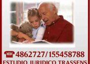 Abogados   mar del plata  jubilaciones est. jur. trassens 4862727