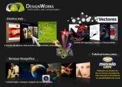 Diseñador web y grafico free lance.