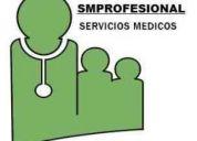Médicos matriculados, se necesitan