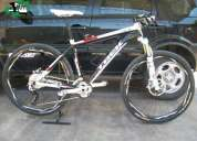 Vendo trek 8500 full xt 2012