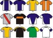 camisetas para futbol