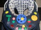 Andador para bebé 8 ruedas - muy resistente