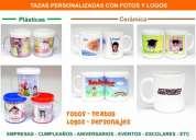 Tazas personalizadas con foto texto personajes logo egresados empresas cumpleaÑos 15