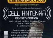 Antena amplificadora de señal celular generation x plus
