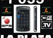 La plata free shop celular f035 libre wifi gps tv 2sim + memoria micro sd 2gb de regalo !!