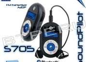 Motorola s705 soundpilot manos libres bluetooht fm musica
