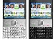 En la plata celular e5 100% libre  qwerty, tv, camara, facebook, msn, etc, entrega hoy !