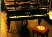 piano pleyel de gran cola cuerdas cruzadas