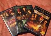 Piratas del caribe 1 , 2, 3 dvd original