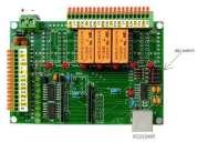 Electrónica para:control, retardo de salidas de emergencia con electroimán. con modbus rtu