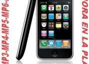 Todo en mp5, mp4, mp3, mp6, celulares mp7. entrega inmediata 15-556-6210 ahora en la plata