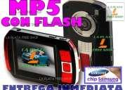 La plata free shop nuevo mp5 pmp camara c/flash y salida directa a tv, 100 juegos gratis