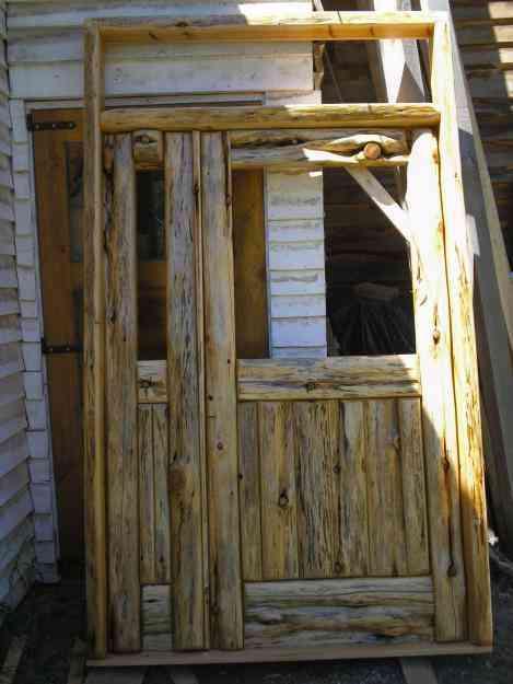 Puertas de madera en cipres ventanas etc gobernador - Herrajes rusticos para puertas ...