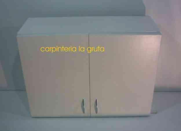 Alacenas 80cm x 60cm melamina 18mm   merlo   hogar   jardin   muebles