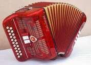 acordeon paolo soprani 2 hileras 8 bajos (video incluido)