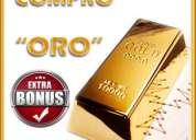 Compro oro paga contado ya
