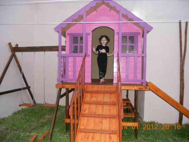 Decoracion mueble sofa casitas en madera para ninos for Casitas de madera para ninos