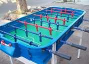 Vendo metegoles, tejo electronico y ping pong usados