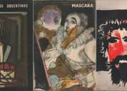 2 revistas mascara + 1 revista artes y letras argentinas