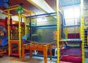 Pelotero vendo instalacion completa para salon de fiestas infantiles