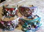 Vinchas artesanales para niñas