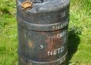 Bidon de 80 litros con 2 tapas de 2 pulgadas ,sirve para combustible ,gas oil