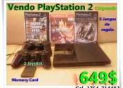 Playstation 2 chipeada