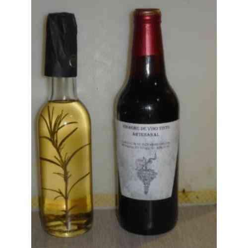 Vinagre De Vino Tinto / Blanco. Artesanal (partida
