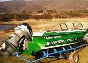 lancha bermuda caribean c/evinrude 100 hp