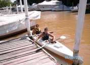 Kayak doble abierto dos tambuchos oferta..... !!!!