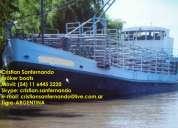 barco arenero/carga generales/hacienda