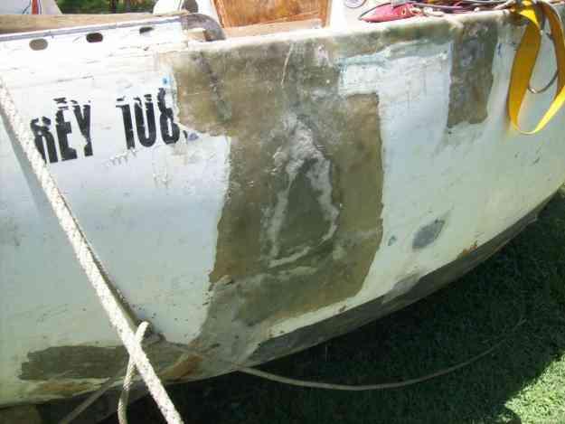 velero eitin 25 pies para reparar