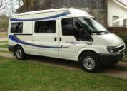 Ford transit casa rodante 2002 impecable