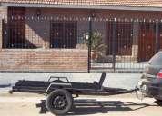 Vendo trailer para moto y/o cuatri