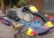karting m-101 con motor parilla 125cc top 2008, impecable sin uso, envio a todo el pais!!!
