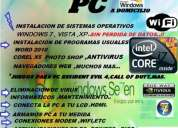 servicio tecnico y reparaciones de pc