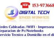 servicio tecnico computadoras impresoras notebooks redes wifi cámaras ip en rosario