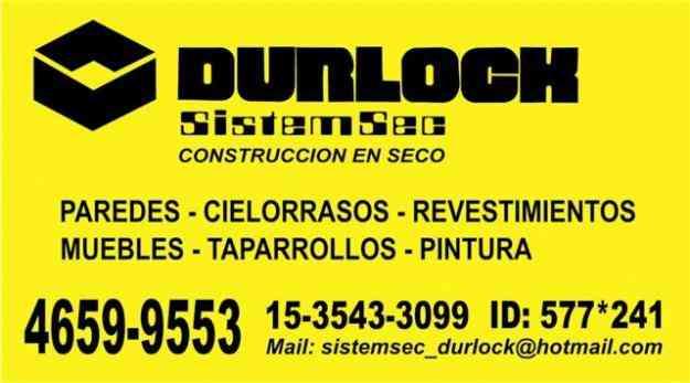 Durlock En Zona Oeste Mor N Doplim 62108