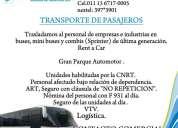 Transporte de pasajeros(011)15 6717-0005-traslados-escobar-buenos aires