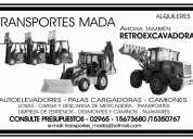 Alquiler pala cargadora - autoelevadores y camiones