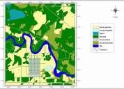 Elaboración de mapas digitales vectorizados