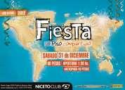 fiesta de piso compartido - edición especial aÑo nuevo - 31 de diciembre en niceto club!