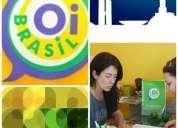 Oi brasil - curso de portugués en la zona oeste moron