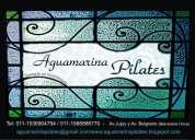Aguamarina, pilates reformer