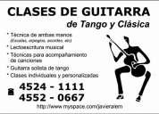 Clases de guitarra tango y clÁsica