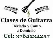 Clases de guitarra, teclado y canto. a domicilio. posadas