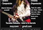 clases de guitarra con maycown reichembach (vacantes limitadas)