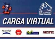 Busco distribuidores zonales de carga virtual